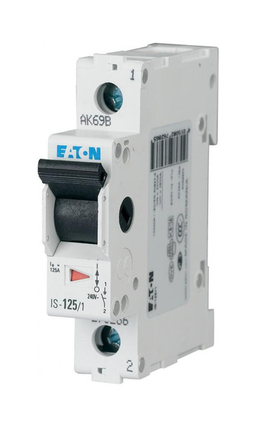 1-Pole 1-Module Main Switch For Distribution Box 32A 230VDC Eaton IS-32/1 from Circuit breakers