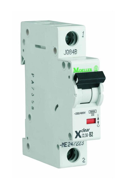 1-Pole 1-Module 25A 230/400VAC Circuit Breaker Eaton CLS6-D25-DP from Circuit breakers