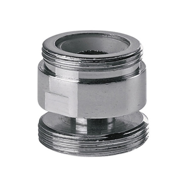 Swivel Aerator For Kitchen Faucet: 22x24mm Male Swivel Adaptor Metal For Water Kitchen Faucet
