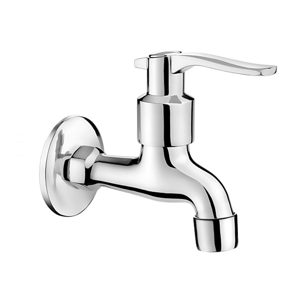 1/2 Inch Cold Water Garden Outdoor Tap Chrome Plated with Aerator and Adapter