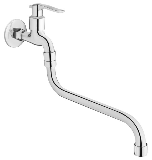 Chrome Plated Water Garden Outdoor Tap 1/2 with Very Long Spout from Garden taps  valves