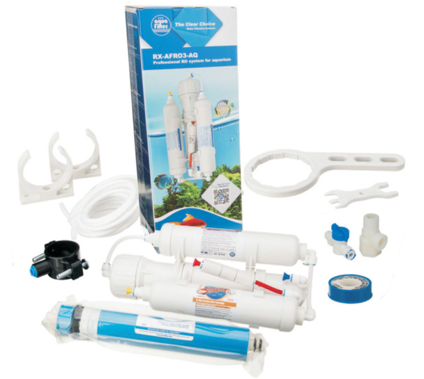 3 Stage Reverse Osmosis Systems for Aquarium Fish Water Filtration System from Water filters