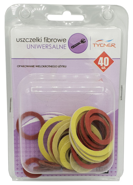 40x Kitchen Bathroom Universal Gaskets Fibre Washer Set Various Sizes Types from Nuts Bolts and Washers
