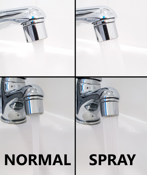 M22 22mm Female Water Saving Faucet Aerator Kitchen Tap Normal/Spray Streams