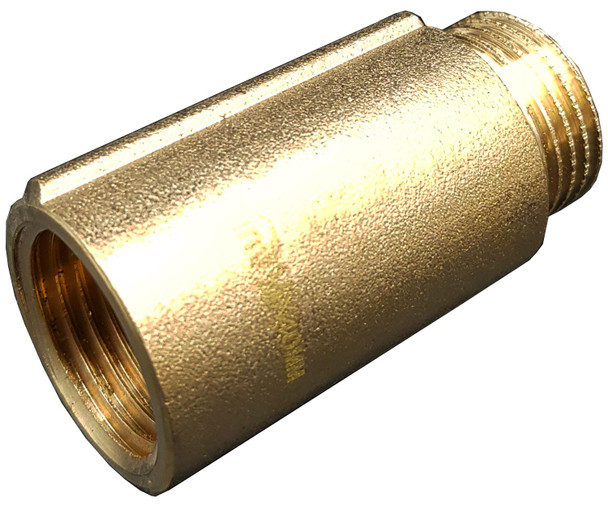 1/2 Inch BSP Pipe Wall Thread Extension Iron Brass Tap Extender