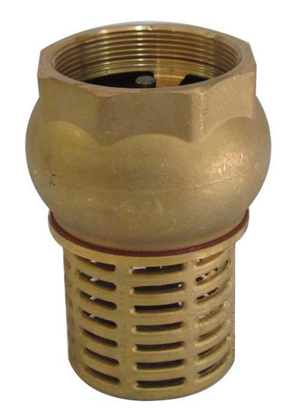 Foot Check Valve Suction Non-Return Valve for Pumps Brass