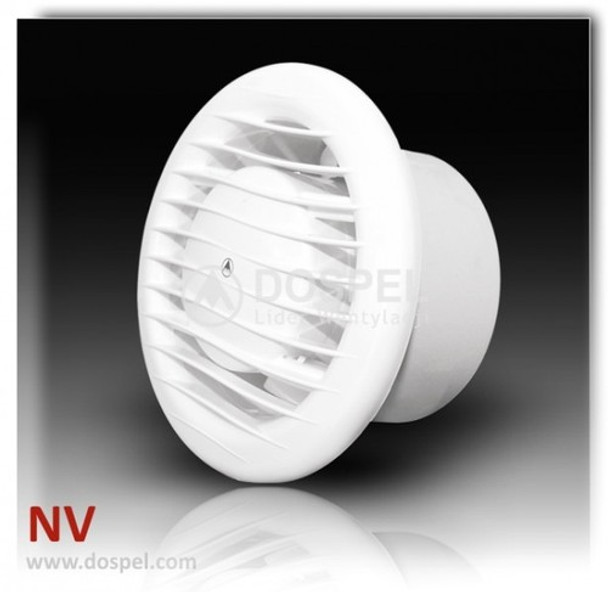 "White 6""/150mm 230v Wall / Ceiling Bathroom Ventilation ..."