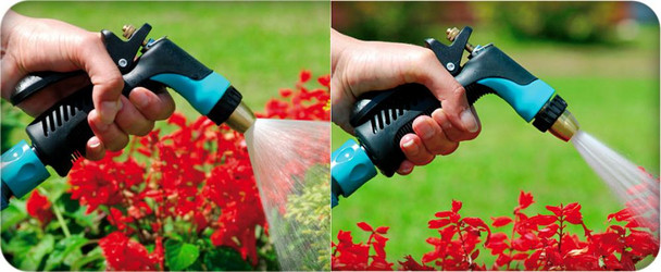 Quality Garden Hose Gun Water Irrigation Nozzle Sprayer Hozelock Compatible