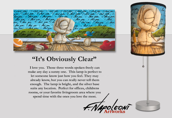 It's Obviously Clear - Lamp