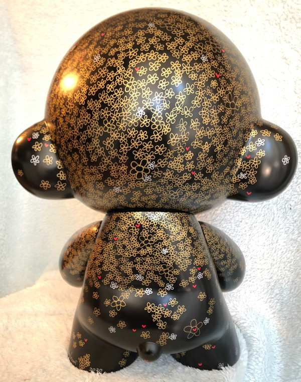 """18""""(Black)  Vinyl One of a kind custom MEGA MUNNY  """"Mother Nature"""" shipping is on me"""