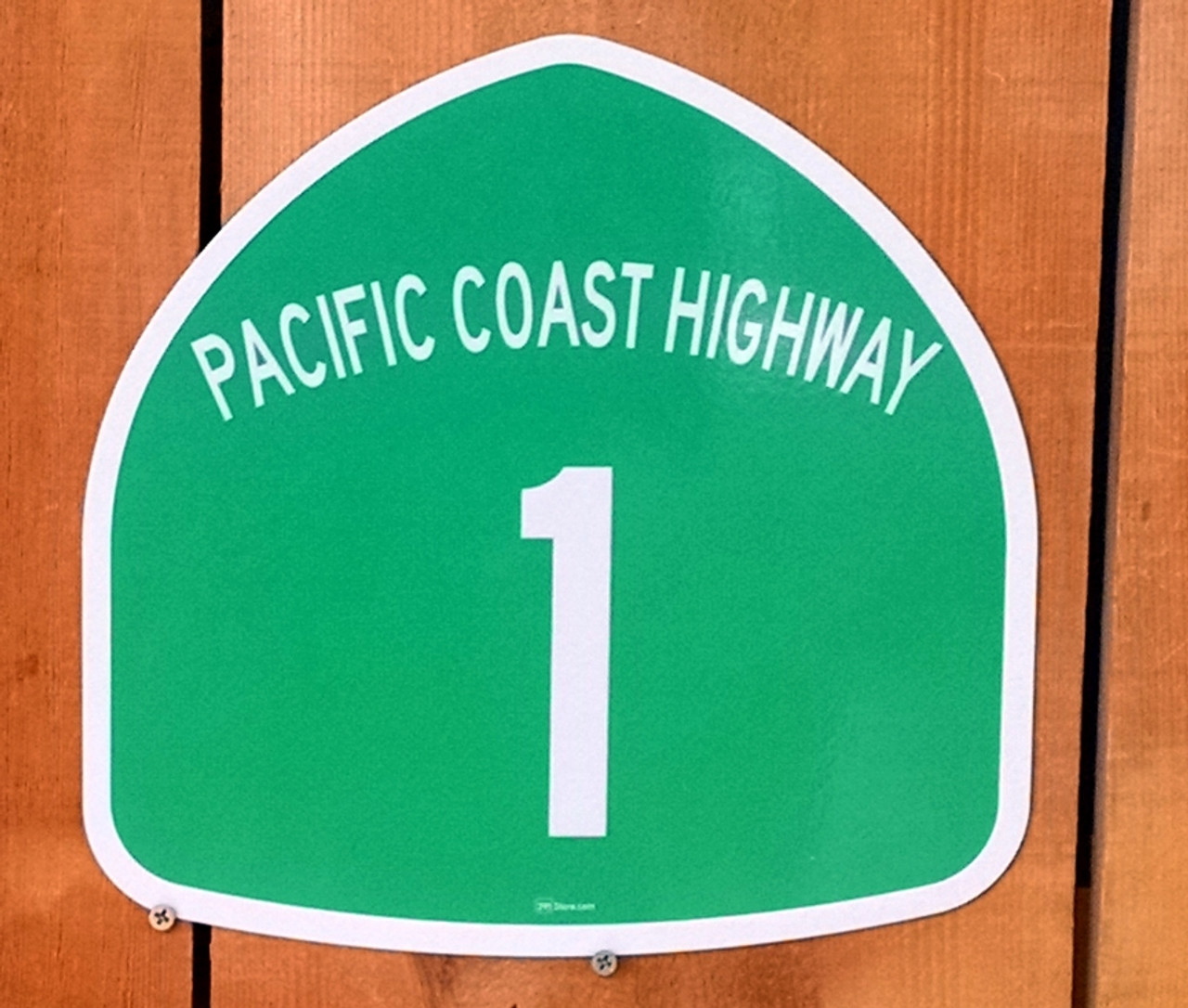 California 1 Road Sticker Pacific Coast Highway Sign Decal