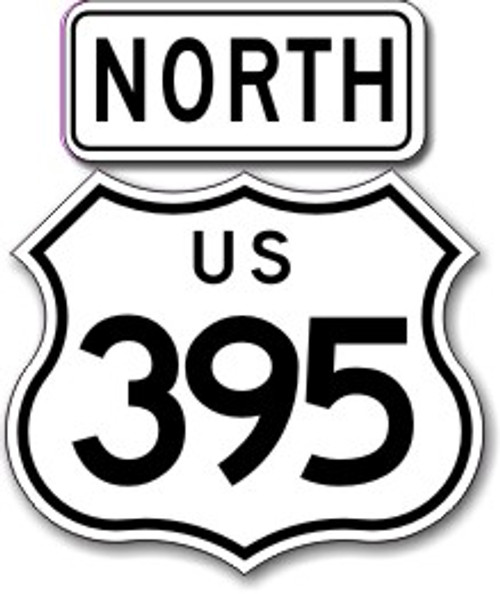 395 North Sticker