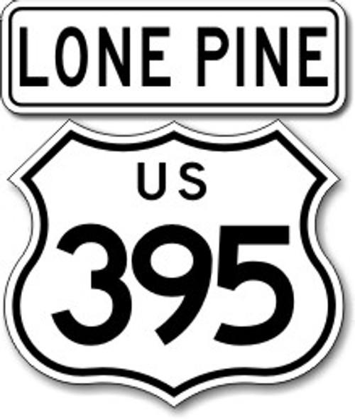 395 Lone Pine Sticker