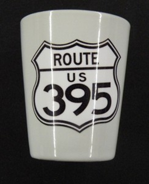 Route 395 Shot Glass