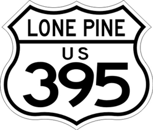 395 Lone Pine #2 Sticker