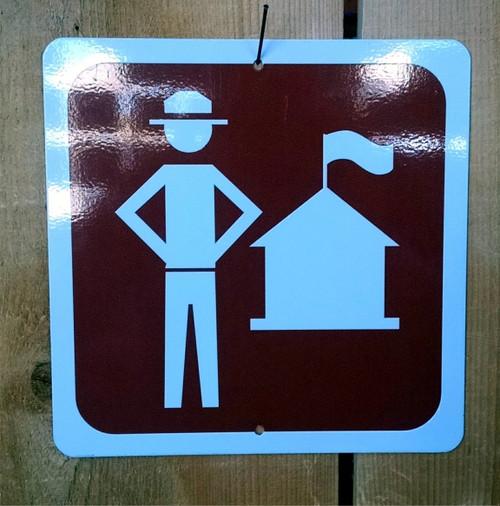 Ranger Station Symbol Sign