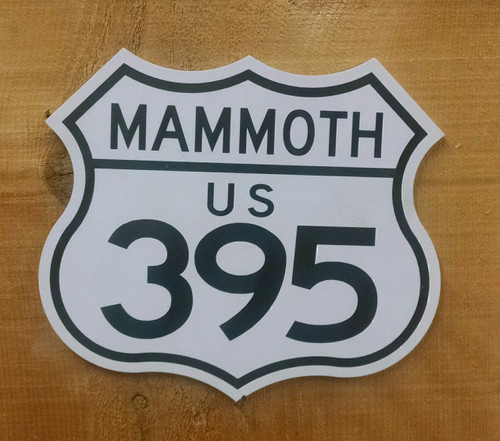 395 Mammoth Mini Sign