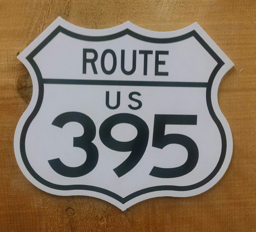 395 Route Mini Sign