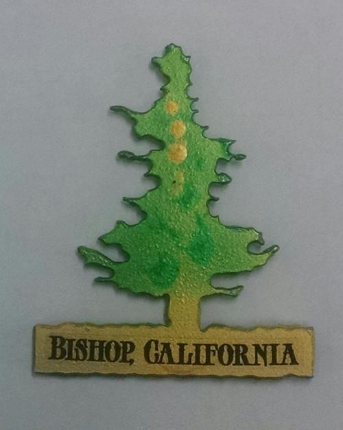 Metal Pine Tree Magnet