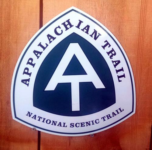 Appalachian Trail AT Trail sign