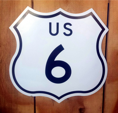 Highway Route 6 Sign