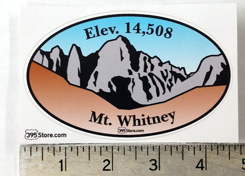 Mount Whitney Picture Sticker