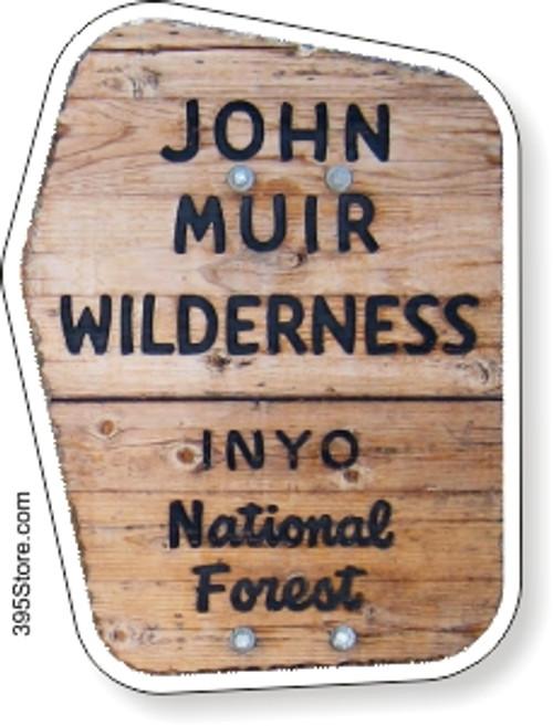 John Muir Wilderness JMT Sticker