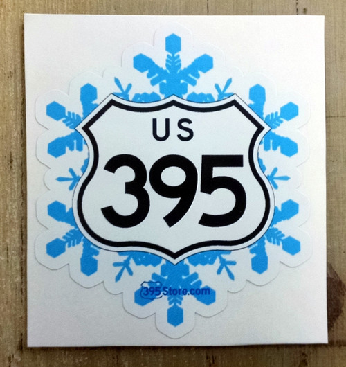 395 Snowflake Sticker
