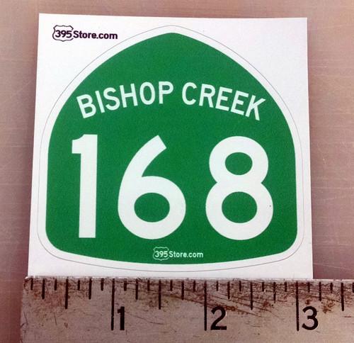 Bishop Creek Highway 168 Sticker