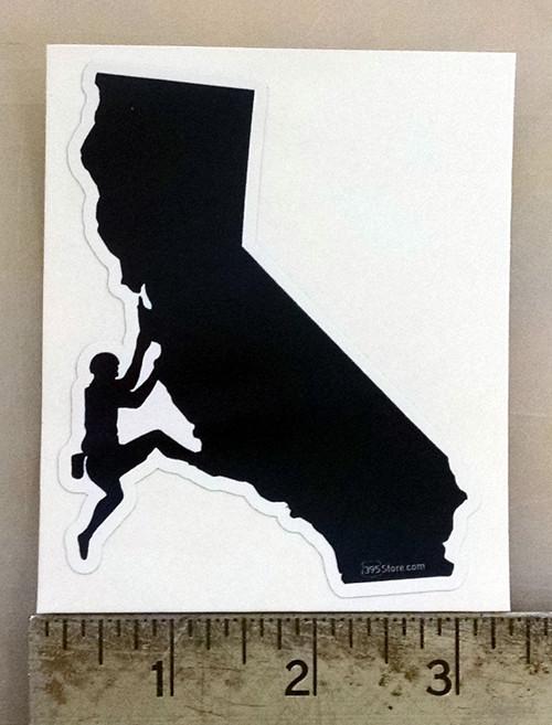 California Climber Sticker
