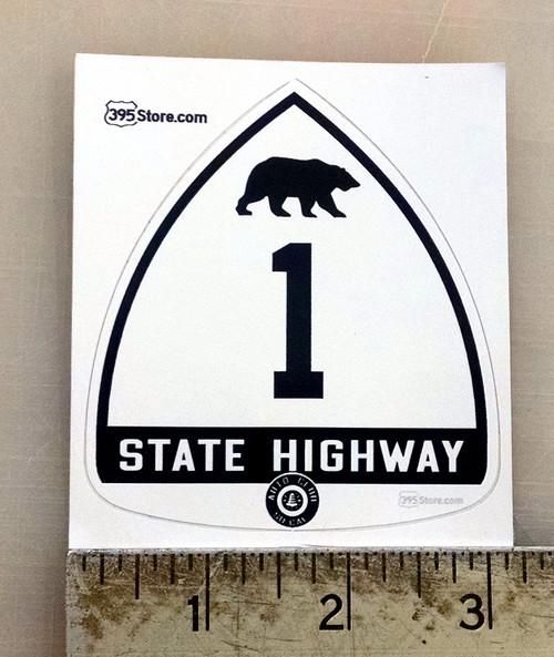 Old California Highway 1 Sticker