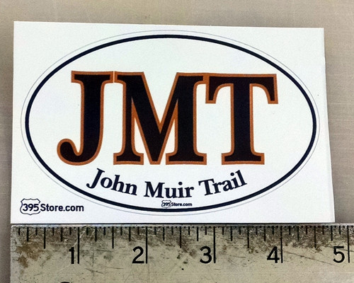 JMT John Muir Trail Oval Sticker
