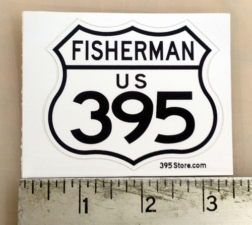 395 Fisherman Sticker