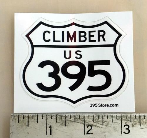 395 Climber Sticker