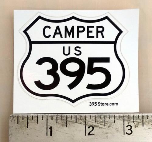 395 Camper Sticker