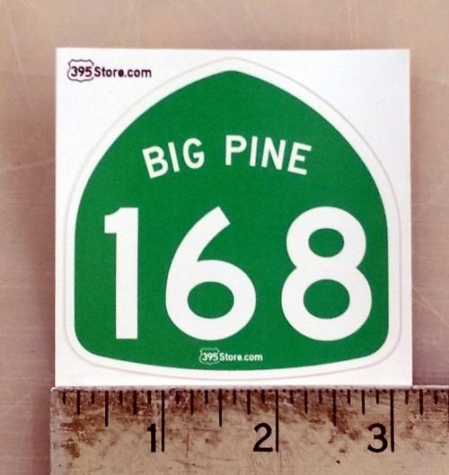 Big Pine Highway 168 Sticker