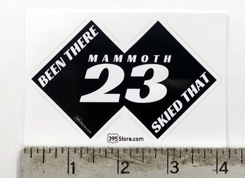 "Mammoth Chair 23 ""Been There, Skied That"" Snow Ski Sticker"