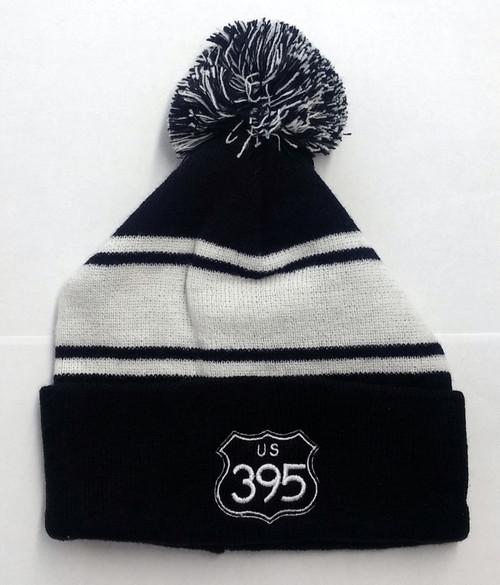 395 Beanie with pom