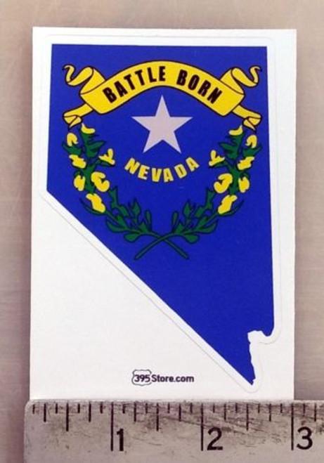 Nevada Battleborn Sticker