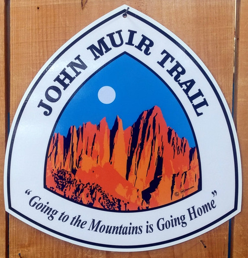 John Muir Trail JMT sign