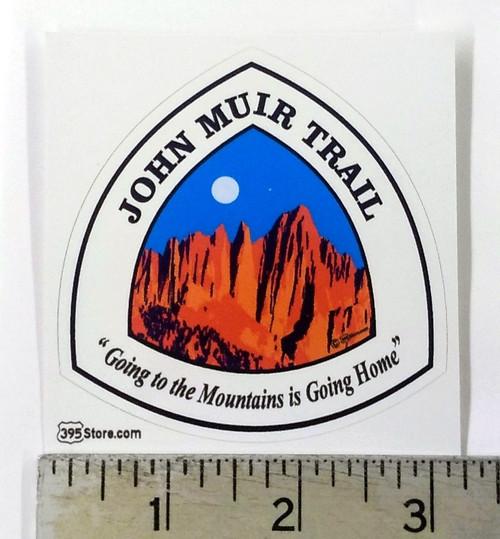 JMT John Muir Trail Sign Sticker