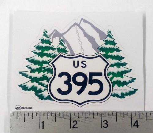 Love 395 Winter sticker