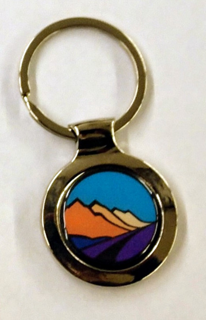Eastern Sierra Scenic Byway Keychain