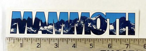 Mammoth Minerets Sticker