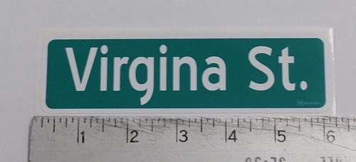 Virgina St sticker Reno Nevada