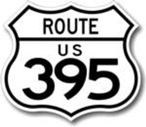 395 Route Sign