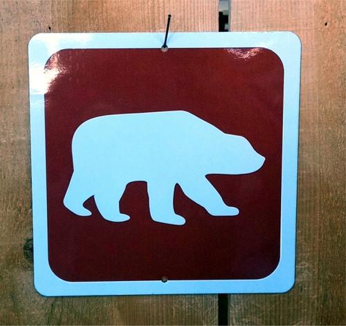 Bear Symbol Sign