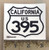 395 California Sticker