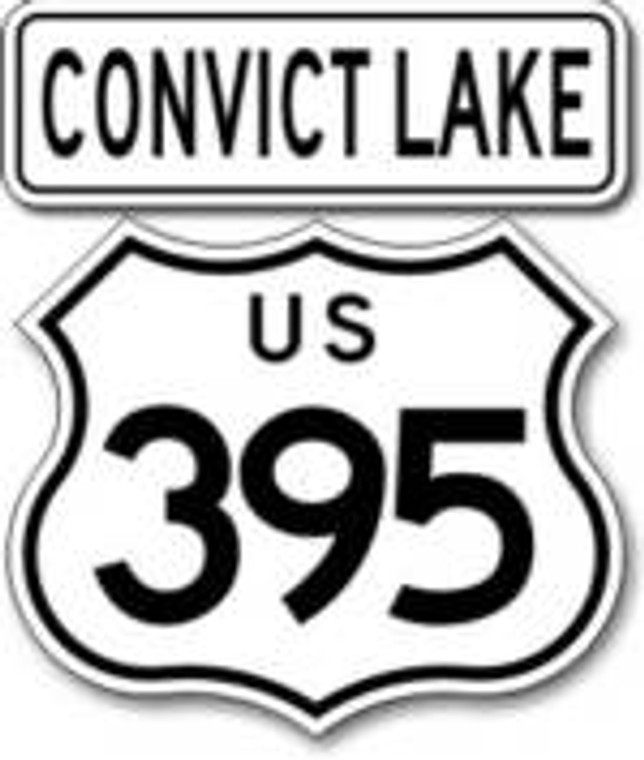 395 Convict Lake Sticker