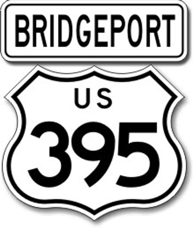 395 Bridgeport Sticker